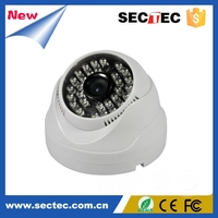 Metal IR Dome IP Camera 30M IR Range Supports Onvif, Motion Detection, Remote View and Control, IR-Cut