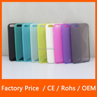 S-Line TPU Rubber Gel Wave Thin Grip Protective Phone Case Cover For Apple iPhone 6 5.5'' Plus