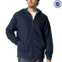 custom man french terry thin hoodie