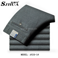 2015 breathable and anti-winkle pants for men