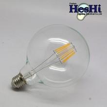 High brightness Low power consumption G95 6w led bulb