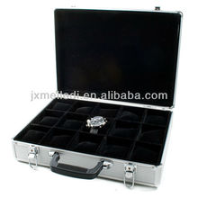 MLDGJ329 Professional Customized Durable Beauty Case Wrist Watches Carrying Cases in Aluminum Box