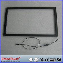 infrared touch screen 24 inch multi ir touch frame,ir touch panel overlays for LCD or TV