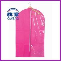 foldable fabric mens suit cover/ oxford suit garment bag wholesale