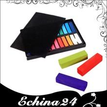 Corta pelo temporal Soft Pastels 24 Color de pelo tizas tizas pelo