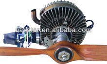 UAV Single Rotor Engine - MDR-208 has highest power to weight ratio of any rotary engine in the world.