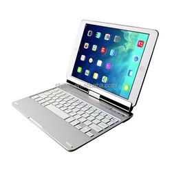 Wireless 360 Degree Rotation Bluetooth Keyboard For iPad, Mini Wireless Keyboard