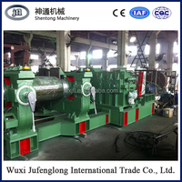 Wasting tire cycling rubber crusher machineXKP-560/ruber plastic crusher with manufacturer price /New type waste tyre shredderb