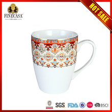 Small order customized promotional ceramic tea and coffee mug cup
