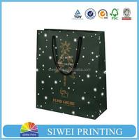2015 Hot sale wholesale custom cheap mini kraft paper gift bag