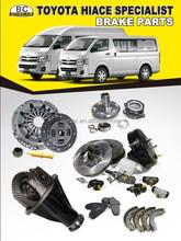 2005 2008 2010 2012 2014 toyota Hiace/Quantum/Commuter/Regius brake parts