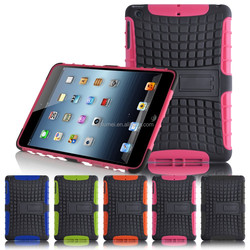 Shockproof Hybrid Dual Heavy Duty With Stand Function Case Cover for Apple iPad Mini 123