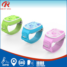 Long Time Standlby gps wrist watch tracker with Low battery alert
