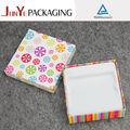 rectangular de cartón de papel cajas de regalo con tapa