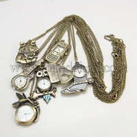 Mixed Antique Erotic Pocket Watches(WACH-G006-M5)