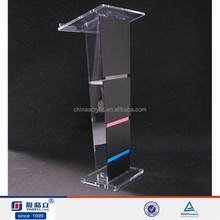 Transparent Holy Acrylic Pulpit for Church in Hot Sale