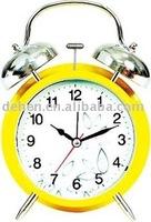 metal twin bell funny alarm clocks