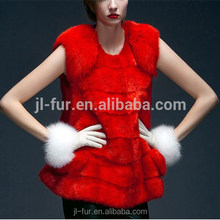 Hot Sale Nature Mink Fur Coat with Top Quality Mink Pelt for Winter