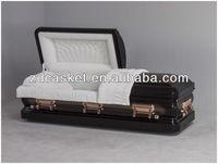Mental handle velvet inside metal casket(1622)
