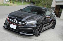 A45 Varis full carbon fiber car bumper body kit&auto parts for mercedes-ben A-class