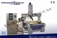 4 axis CNC Router DT4A1325ATC,China Best Sales!!! DragonTech 4 Axis CNC Router Machine Price Distributors Needed, ATC cnc router