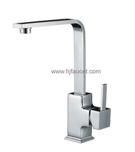 Gun Shape Hot and Cold Kitchen Faucet Tap (82H35-CHR)