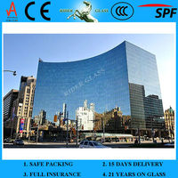 3-19mm Color Changing Tempered Glass with CCC & AS/NZS2208:1996 & EN12150-1