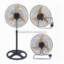 18 inch hot selling electric industrial fan (stand fan/wall fan/desk fan)