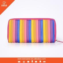 Hot Sale Fashion Design Cheap Colorful Women Wallets