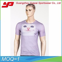 OEM unisex short sleeve new high quality colorful 100%cotton casual T-shirt