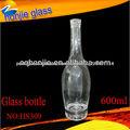 Chongqing fabricante Vendas vidro de alta qualidade Custom Made licor garrafas de vidro Venda