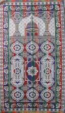 Chinese supplier islamic prayer rug prayer mat