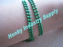 fancy matte green color decorative ball chain