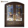 puertas de dobles paneles con seguridad/ puerta de hierro jorjado