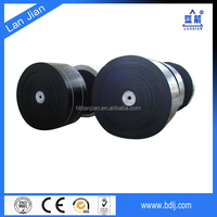 high strength steel cord anti burning and fire resistant conveyor belt