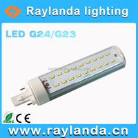 China supplier lighting led 9W G24 LED bulbs 950lm