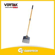 Front rank of garden tools supplier outdoor plastic rake for leaf