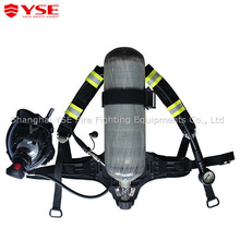 SCBA air management for fire fighters