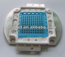 High power 30W 50w 100W led chip 420nm 430nm 440nm 450nm 460nm led chip for plant growth
