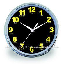 10 pulgadas reloj de pared de la pared, promocional reloj de pared, regalo reloj de pared
