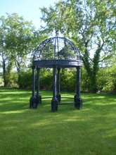 English Victorian Cast Iron Gazebo