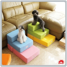 pet dog doggy soft foldable portable ramp mat steps ladder stairs