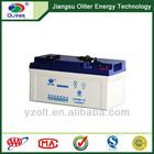 Hot! 12v 65ah bateria de chumbo ácido para soalr led e iluminação de baterias