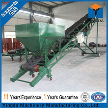 Adjust speed portable belt conveyer from Yingda