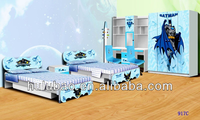 Sale Spiderman Batman Kids Furniture Kids Bedroom Furniture Sets Cheap