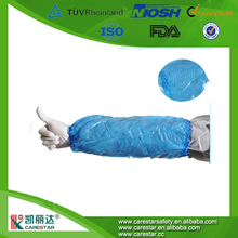 Disposable pe arm sleeve covers/waterproof medical sleeve cover/oversleeve