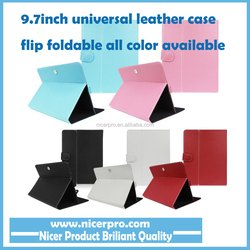 """9.7"""" case for tablet Universal Magnet Stand PU Leather Folio Cover For MID Tablet Accessories"""