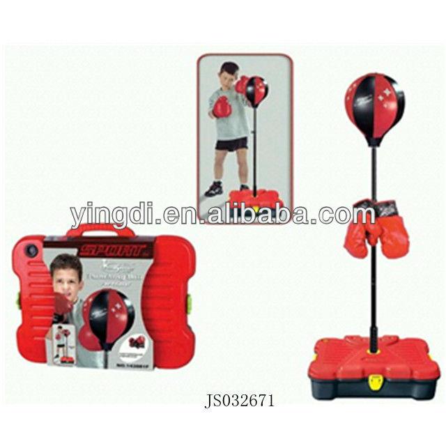 enfants set de boxe boxe punching ball jouet en plastique. Black Bedroom Furniture Sets. Home Design Ideas