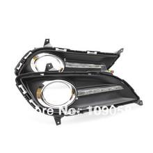 Car LED High brightness DRL Lights Front Running Car Lamps Led Fog Light DRL For Hyundai Elantra