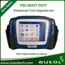 Profesional ps2 heavy duty escáner para camiones 100% el apoyo inicial de bluetooth tanto de alambre y diagnosticar